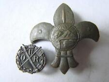 Romania Romanian Lot 2 Royal Badges , Badge - ? medal , order