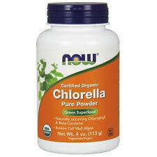 Pure Organique Chlorella Poudre 113g Chlorophylle Super Greens Détox Smoothie