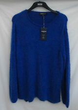 Marks and Spencer Women's Cotton Scoop Neck Jumpers & Cardigans