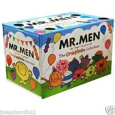 NEW BOX SET of MR MEN -  50 BOOK - MY COMPLETE LIBRARY collection  BLUE