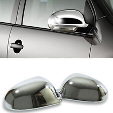 2 Case/Frame Mirrors VW Golf 5 Sedan 3 5 Doors 10/2003-11/2008 Chrome Retro