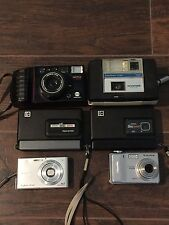 Lot of Vintage Cameras Minolta Keystone Kodak Sony Fujifilm in Good Condiditon