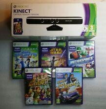 Capteur Kinect Xbox 360 + 5 Jeux Star Wars ,Adventures,Joy Ride,Motion Sport...