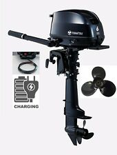 "6hp Tohatsu Mfs6d Long 20"" Shaft Sail Pro OUTBOARD 12v Charging 2020 Model"