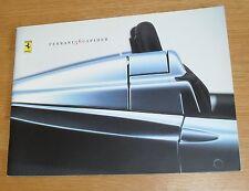 ** Ferrari 360 Spider Sales Brochure 2000-2005 - 360 Spyder **