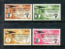 Italian Colony Cyrenaica C20-C23, MNH, 1934 Air Mail set x20449