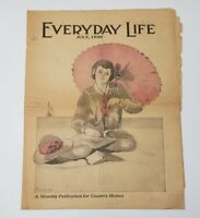 EVERYDAY LIFE MAGAZINE JULY 1930 COUNTRY HOME NEWS