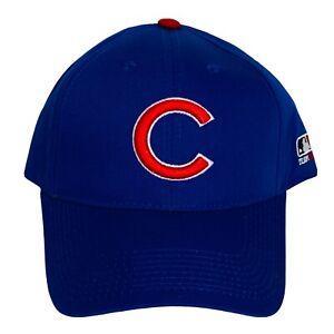 Chicago Cubs MLB OC Sports Hat Cap Royal Blue w/ Red C Team Logo Adjustable