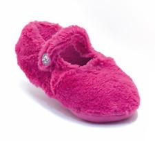 Ladies Slipper Non Slip Soft Ballerina Ballet Indoor Warm Pink Fluffy Slippers