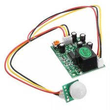 DC 12V 3-Wire Human Body PIR IR Pyroelectric Infrared Sensor Relay Module