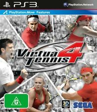 Virtua Tennis 4 *NEW & SEALED* PS3 PS Move Features