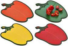 Kitchen Non Slip Chopping Cutting Board Pepper Shape Gadget Worktop Reversible