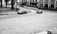 MONACO GRAND PRIX 1966 JOCHEN RINDT GRAHAM HILL BRM CASINO SQUARE PHOTOGRAPH