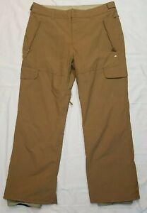 Quiksilver Utility Collection Snowboard Ski Snow Pants Mens XL Quiktech 10.000mm