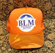 Busch Latte Beer Trucker Hat Busch Hunting Gun Bud Lives Matter Light Blm Camo