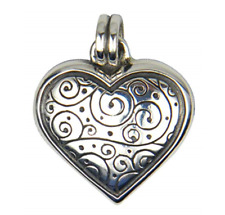 Celtic Swirl Heart Shaped Pendant Sterling Silver 925 Anniversary Valentines Day