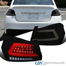 Tail Lights For Subaru 15-19 WRX/WRX STI Black Smoke Sequential LED Brake Lamps