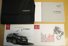 Nissan X-Trail Manuel Owners Manual Wallet 2014-2017 Pack 9390