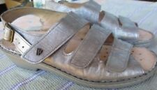 SALE*** FINN COMFORT Womens Sandals  9 US,  6.5 UK,  gray silver,  leather JK 60