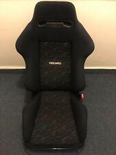 Recaro SR2 confetti lemans seat with rail