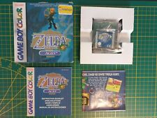 GAME BOY GAMEBOY COLOR GBC BOXED BOITE LEGEND OF ZELDA ORACLE OF THE AGES EUR