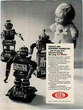 1969 ADVERT Ideal Doll Newborn Thumbelina Zeroids Robots