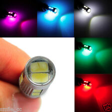 Car Auto LED T10 194 W5W Canbus 10 SMD 5630 5730 LED Light Bulb Bright 5-Color