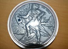 """Die Nano-Bibel"" 1 kg Silber Antique Finish, Burkina Faso 2015, mit Nano-Chip"