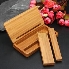 Chinese Wood Stick Coffin Incense Box Holder Storage Burner Handmade Home