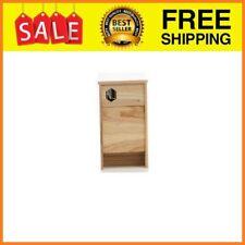 Two Chamber Bat Box House Kit For Outside Nesting Premium Large Hanging Cedar