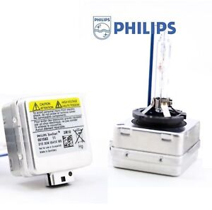 2x New Philips D1S 85410 6000K Colour XENON Bulbs Lamps Headlight BMW AUDI B6