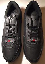 U.S.Polo Men's Branson Sneaker /Black-Gray SIZE US 12 SYNTHETIC UPPER(217472A48)