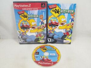 The Simpsons Hit & Run (Sony PlayStation 2   PS2) Complete in Box CIB