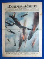 La Domenica del Corriere 1 dicembre 1940 Malta - Borsini - Aviazione Italia