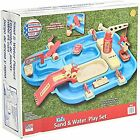 American Plastic Toys Kids Sand and Water Playset, One-Piece Industrial Waterway