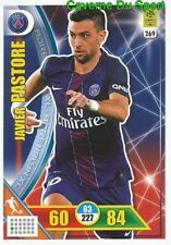 269 JAVIER PASTORE PARIS SAINT-GERMAIN PSG CARTE CARD ADRENALYN  2018 PANINI