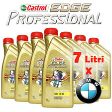 7 Litri Castrol 5W30 Edge Titanium Fst Professional Long Life 04 BMW Olio Motore