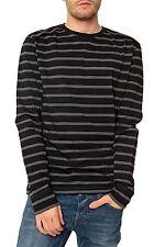 Gestreifte Langarm Herren-Shirts keine Mehrstückpackung