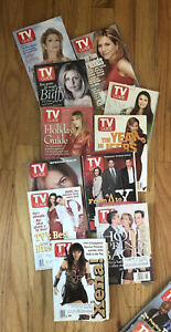 Lot of Vintage Assorted TV Guide Magazines from 1997