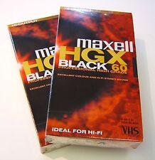 20 x Maxell VHS E-60 Video Tape cassette Professional High Grade 60 SP 120LP Min