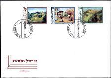 (Ref-10933) Liechtenstein 2002 Friedrich Kaufmann Anniv. SG.1267/1269  F.D.C.