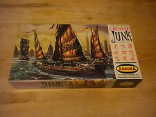 Vintage Aurora Model #430-198 Chinese Junk 1956 Complete