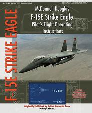 McDonnell Douglas F-15e Strike Eagle Pilot's Flight Operating Instructions