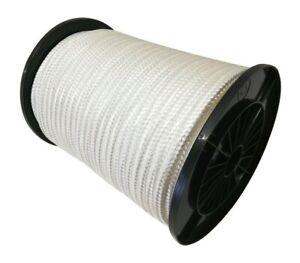 Nylonseil Nylon Polyamidseil Perlonseil 16fach geflochten Weiss Tauwerk 1mm-16mm
