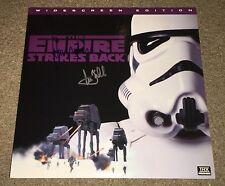 Harrison Ford & Mark Hamill SIGNED Star Wars Empire ESB Laserdisc RARE K9 / OPX
