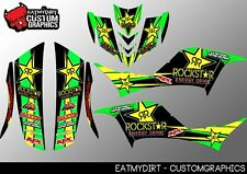FOR KAWASAKI KFX 700 CUSTOM GRAPHICS KIT DECALS MX MOTOCROSS ATV STICKERS