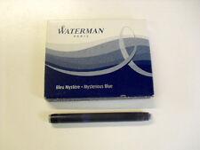 WATERMAN - CARTUCCE PER PENNA STILOGRAFICA LUNGH. STANDARD - 8 PZ - COLORE BLU