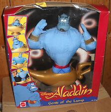 #8142 NIB Mattel Disney Aladdin Plush Genie of the Lamp