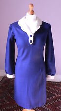 Mod/GoGo 1960s 100% Wool Vintage Dresses for Women