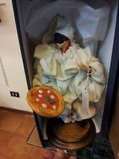 1 pulcinella vestito 20 CM TERRACOTTA FORTUNA corno pizza NAPOLI made italy